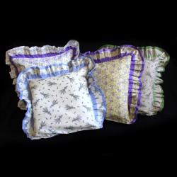 Bavlněný povlak s kanýrem - levandule - barevné variace